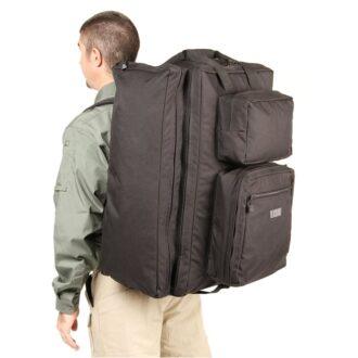 DIVER'S TRAVEL BAG BLACK